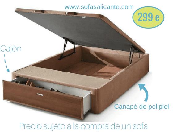 Sofa Oferta Cajón Sofas Alicante