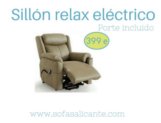 Oferta Sillón relax eléctrico